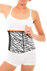 Fine Life Zebra Print Slimming Belt for Men or Women