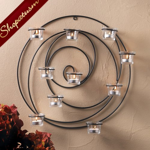 Hypnotic Candle Wall Sconce Wall Decor