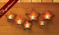 Star Light Star Bright Glowing Stars Wall Sconce