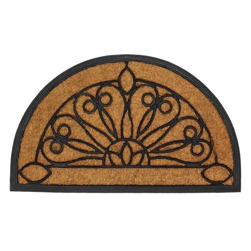 Stylish Rubber Coir Front Door Floor Mat