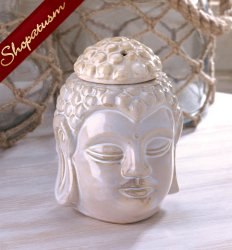 Peaceful Buddha Oil Warmer Tranquility For Your Sacred Space
