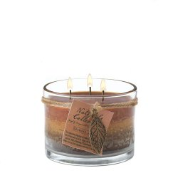 Harmony Scented Candle, Glass Jar Candle, Vanilla and White Birch