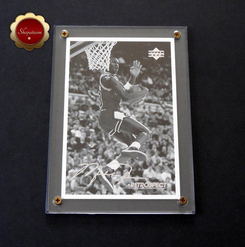 Michael Jordan 1998 Upper Deck Retrospect 4x6 Postcard MJR4