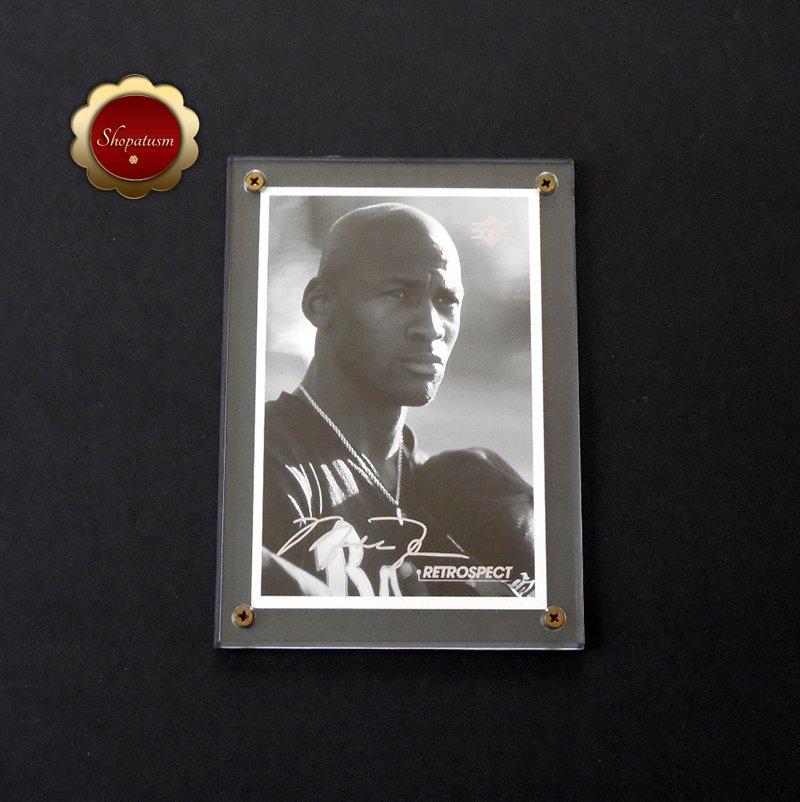 Michael Jordan 1998 Upper Deck Retrospect 4x6 Postcard MJR3