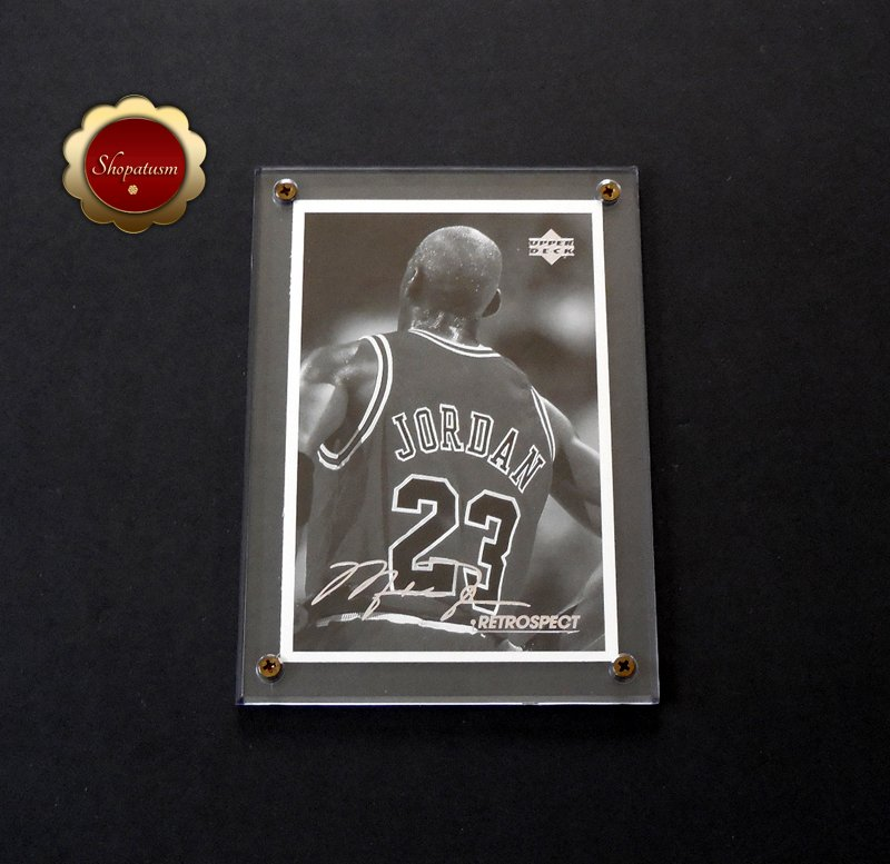 Michael Jordan 1998 Upper Deck Retrospect 4x6 Postcard MJR6