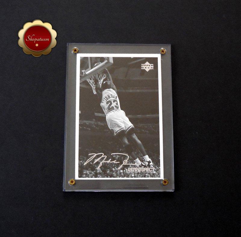 Michael Jordan 1998 Upper Deck Retrospect 4x6 Postcard MJR5