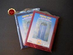 Red & Blue Garment Bags Fabric Feel Breathable Dress Bag 24 x 52