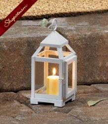 12 Lanterns White Mini Wedding Centerpieces Contemporary Bulk Lot