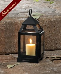 12 Lanterns Black Mini Wedding Centerpieces Contemporary Bulk Lot