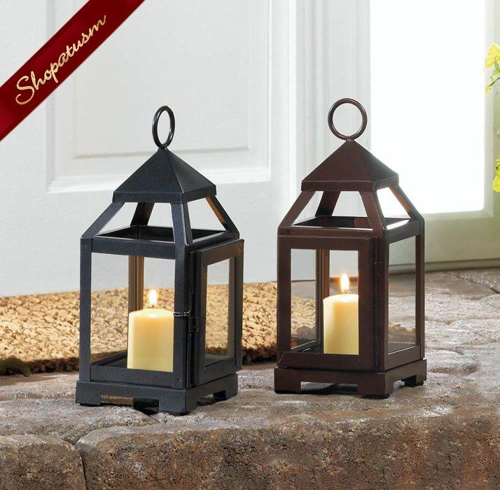 Copper Mini Wedding Centerpiece Contemporary Lantern