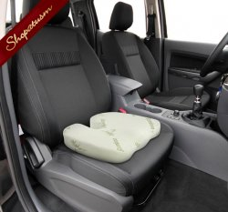 Bamboo Memory Foam Seat Cushion Bamboo Fiber Pillow Cover