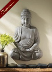 Serenity Buddha Wall Decor Meditation Spirituality