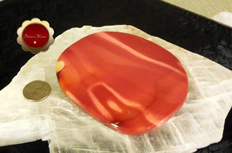 Image 3 of Large Polished Mookaite Jasper Slab Protection Stone