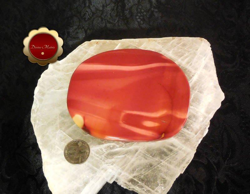 Image 4 of Large Polished Mookaite Jasper Slab Protection Stone