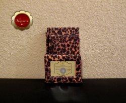 Animal Print Desktop Gift Set Journal Address Book Memo Pad Pencil Photo Frame
