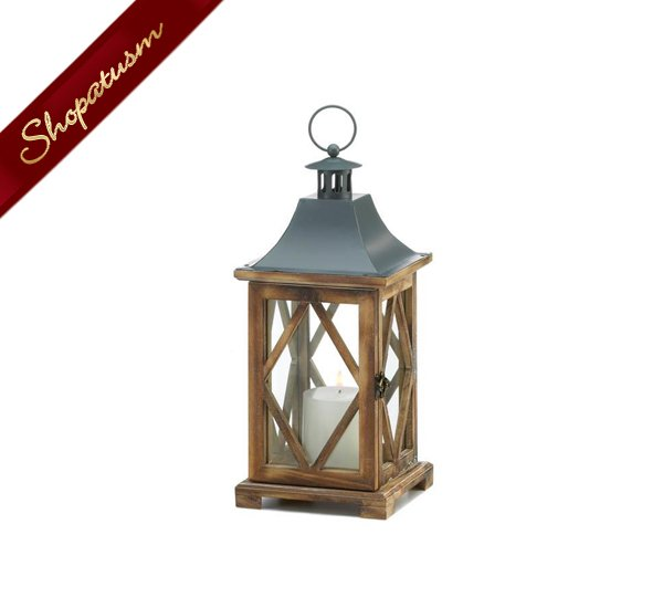 48 Wholesale Diamond Wooden Lattice Candle Lanterns Wedding Centerpieces