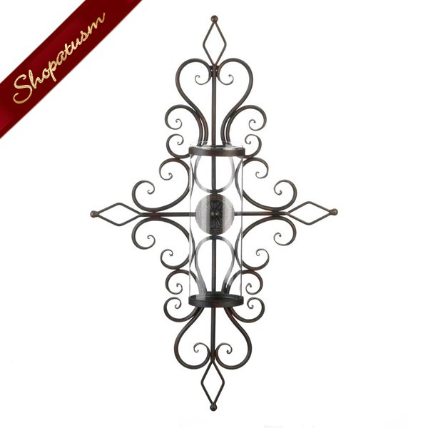 Old World Traditional Design Iron Wall Sconce Lighting