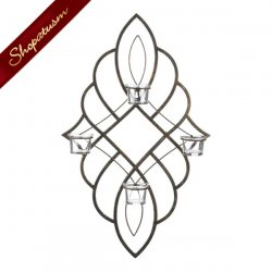 Florentine Candle Wall Sconce Tealight Candle Holder