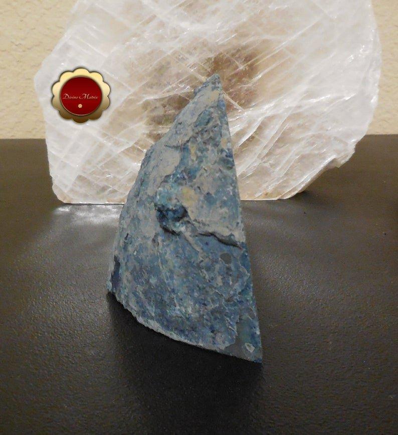 Image 5 of Blue Agate Geode, Blue Agate Quartz Druzy, Brazilian Quartz Agate