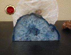 Blue Agate Geode, Blue Agate Quartz Druzy, Brazilian Quartz Agate
