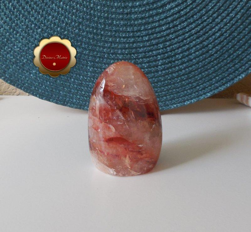 Image 2 of Red Hematoid Fire Quartz Freeform, Hematoid Quartz Crystal