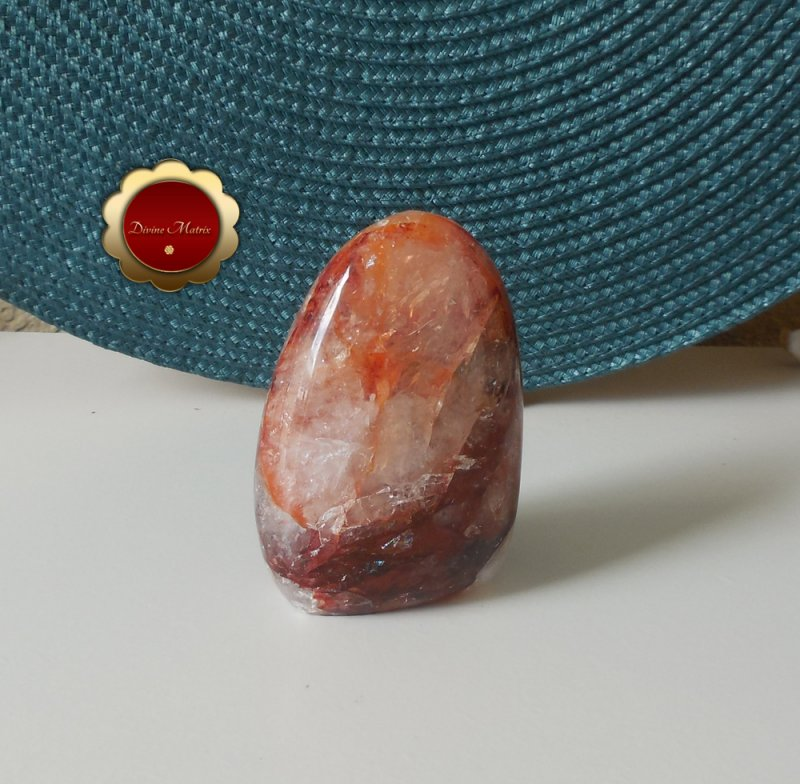 Image 5 of Red Hematoid Fire Quartz Freeform, Hematoid Quartz Crystal