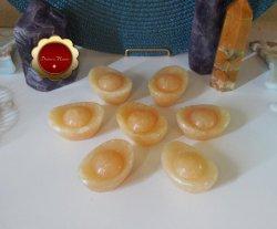 Yellow Jade Ingots, Carved Chinese Jade Ingots, Chinese Ingots, Feng Shui Ingots