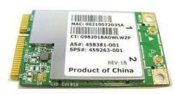 HP Compaq Wireless Card 459263-001 CQ50 DV4 DV5 DV7