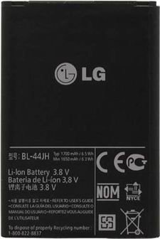 Image 0 of LG Battery BL-44JH Optimus L7 P700 P750 Motion 4G MS770 Venice U730