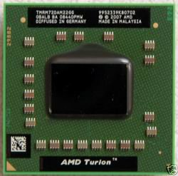 AMD Processor TMRM72DAM22GG Turion X2 Mobile 2.1GHz Dual Core
