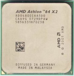 AMD Processor AD0540BIAA5D0 Athlon 64 x2 2.8GHz AM2