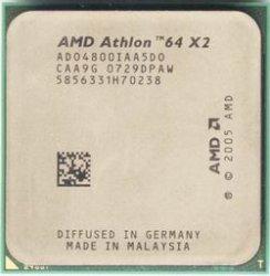 AMD Processor AD0540BIAA5D0 Athlon 64 x2 2.8GHz AM2