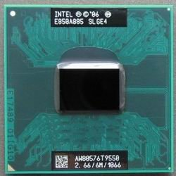 Intel Processor SLGE4 Core 2 Duo 2.66MHz T9550 6M 1066MHz