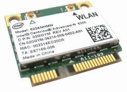 Dell Wireless Card 2GGYM Latitude E4310 E6410 Studio 1569
