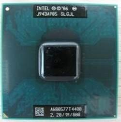 Image 0 of Intel Processor SLGJL Mobile T4400 2.2Ghz 800Mhz 1MB Socket P