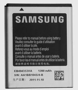 Image 0 of Samsung Battery EB494353VA Battery Dart T499 DoubleTime I857 SGH-i857
