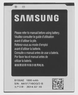 Image 0 of Samsung Battery B150AE Galaxy Core Duos i8260 i8262 G3502 G3508 G3509
