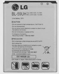 LG Battery BL-59UH G2 Mini D618 D620 LS885