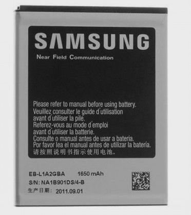 Image 0 of Samsung Battery EB-L1A2GBA Galaxy SGH-i777 T989 S2
