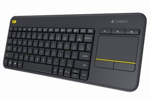 Image 0 of Logitech Keyboard K400 Wireless TouchPad Connected TV