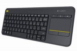 Logitech Keyboard K400 Wireless TouchPad Connected TV