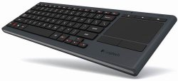 Logitech Keyboard K830 TouchPad Wireless Illuminated TV Entertainment