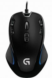 Logitech Mouse G300s Ambidextrous Optical Gaming