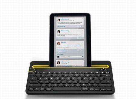 Image 1 of Logitech Keyboard K480 Bluetooth Wireless Mini Multi-Device