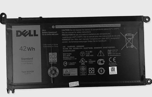 Image 0 of Dell Battery WDX0R Inspiron 15 5567 5568 13 7368 5368 7569 7579