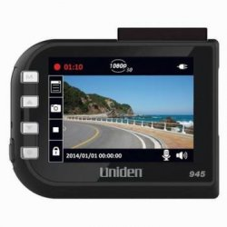 Uniden Camera WDC4 DC4 1080p Full HD Dash Cam 2.4 LCD