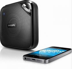 Philips Speaker BT2500B/37 Wireless Portable Bluetooth Microphone Universal