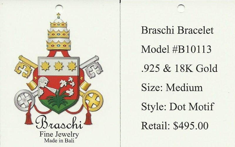 Braschi Unisex Bracelet Tag