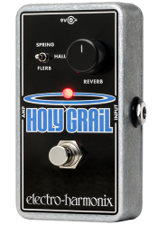 Electro Harmonix Holy Grail Nano Reverb Guitar Pedal with Power Supply
