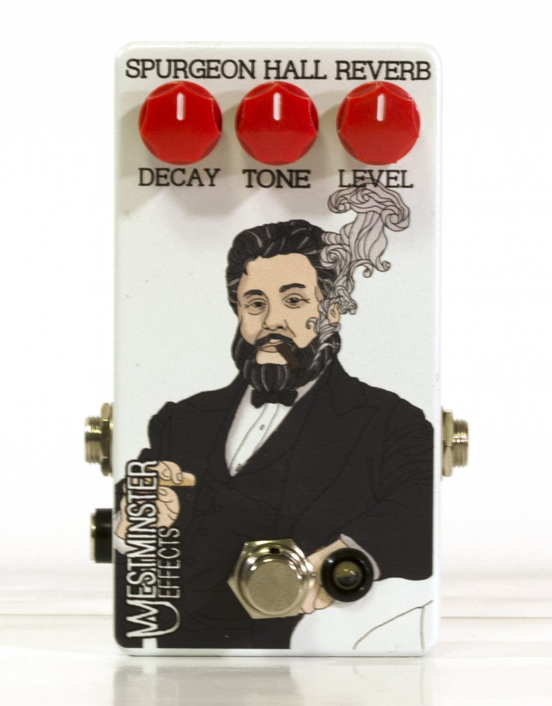 Image 0 of WESTMINSTER EFFECTS Spurgeon Hall Reverb Pedal